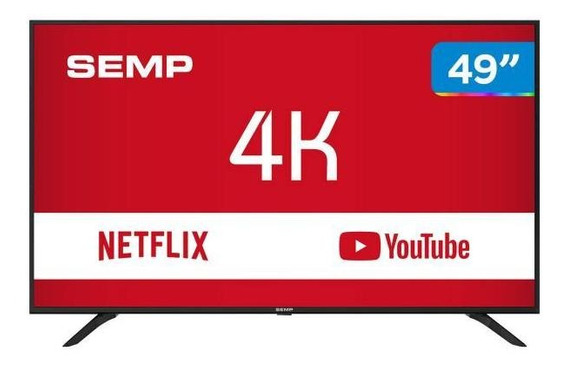 Smart Tv 4k Led 49 Semp Sk6000