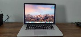 Macbook Pro Retina 15 2.2ghz I7 16gb Ram Ssd 512gb 2015