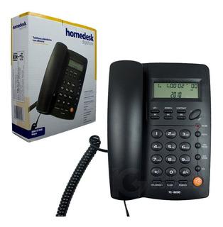Telefono Alambrico Homedesk Nuevo En Caja