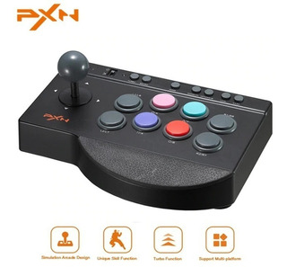 Control Arcade Pxn - Tipo Tablero Retro - Compatible Con Xbox One, Nintendo Switch, Ps3, Ps4, Android, Windows.