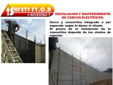 Cerco Eléctrico Y Concertina Instalación Con Garantía