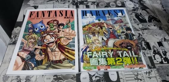 Fairy Tail Artbook - Fantasia E Harvest.