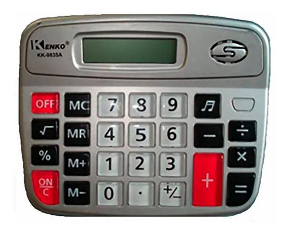 Calculadora Kenko Kk9835a De Mesa 8 Dígitos