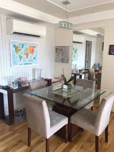 Apartamento Com 3 Dormitórios À Venda, 102 M² Por R$ 1.050.000,00 - Alto Da Lapa - São Paulo/sp - Ap0653