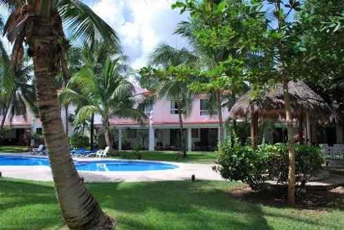En Venta Villa De 2 Recamaras Palma Real Playa Del Carmen P2520