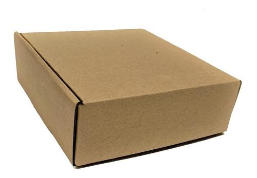 10 Cajas De Cartón 21 X 20 X 7 Cm Autoarmables