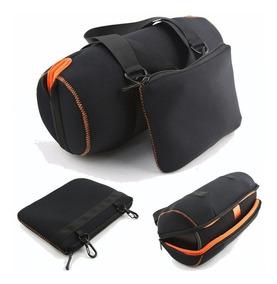 Bolsa Case Capa Protetora Jbl Charge 3 + Bolsa Acessórios