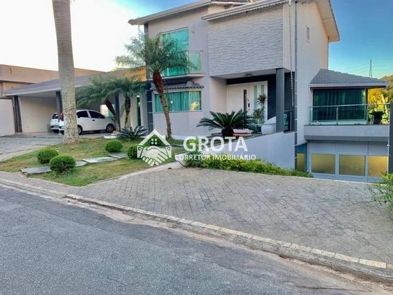 Linda Casa De Alto Padrão No Residencial Aruã 1 - 238