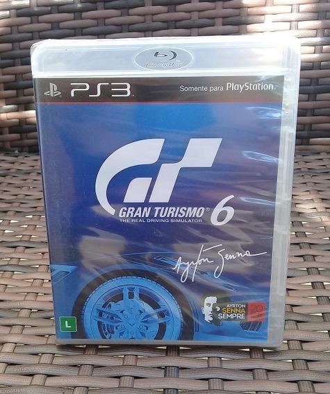 Gran Turismo 6 Ps3 Mídia Física Português Novo Lacrado Cd