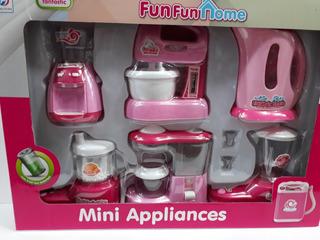Kit De 6 Accesorios De Cocina Infantil Todos Sonido Y Luz