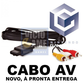 Cabo Av Para Game Cube (rca / Vídeo Composto)