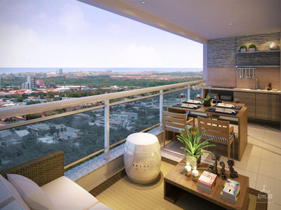 Apartamento Em Cocó, Fortaleza/ce De 111m² 3 Quartos À Venda Por R$ 660.000,00 - Ap166536