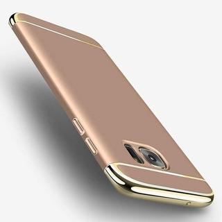 Funda Para Galaxy S7 Rosa Dorada