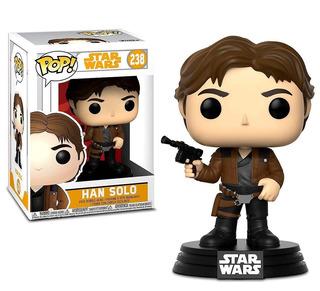 Funko Pop Han Solo 238 Star Wars Muñeco Coleccionable