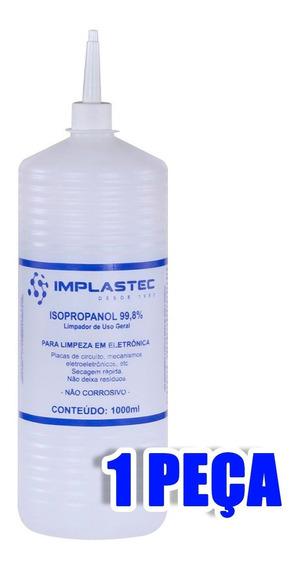 Álcool Isopropílico 1 Litro Implastec (isopropanol) Limpeza