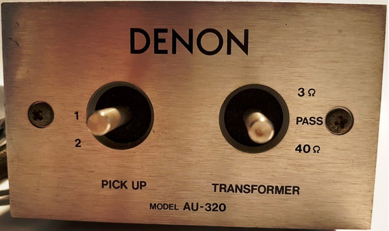 Pré De Phono Denon Au-320 Step-up Transformer