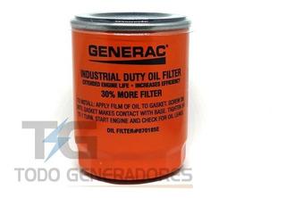 Generac Filtro De Aceite Original 13kva 070185es