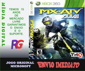 Mx Vs Atv Alive Mídia Digital + 1 Jogo Brinde Roraima Games