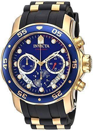 Relógio Invicta Pro Diver 6983 Banho De Ouro 18k