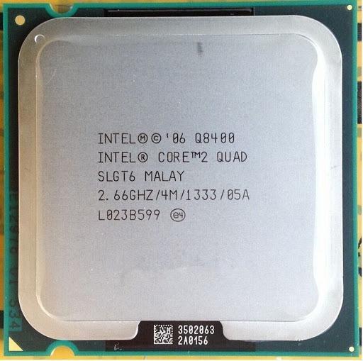 Processador Intel Core2quad Q8400 2.66ghz + Pasta Térmica