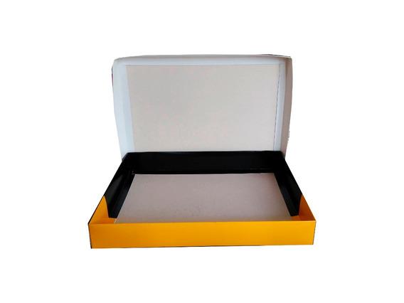 Caixas Cartão 300g C/tampa Lisas 40x30x7cm - Pct C/500