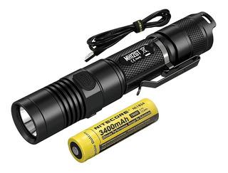 Lanterna Nitecore Mh12gt 1000 Lumens Com Bateria 3400mah