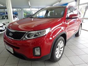Kia Sorento Ex2 3.5 G17 2015 Vermelha Gasolina