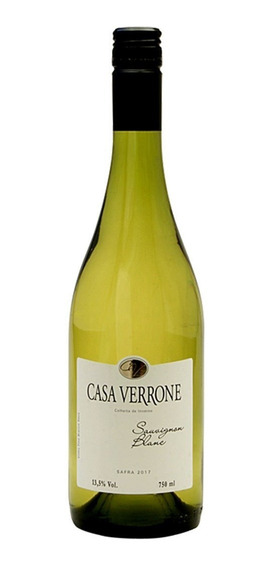 Vinho Nacional Casa Verrone Sauvignon Blanc - 750ml
