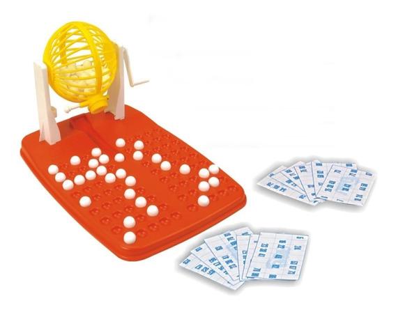 Brinquedo Jogo De Bingo Bingão 100 Cartelas Infantil Nig