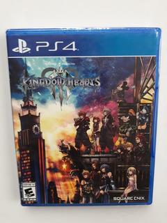Kingdom Hearts 3 Juego Ps4 Nuevo Y Selllado