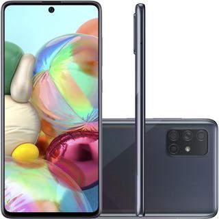 Celular Samsung Galaxy A71 Preto 6gb Ram 128gb Tela 6.7
