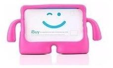 Capa Criança Kids Galaxy Tab 3 4 7 Polegadas Rosa Escuro