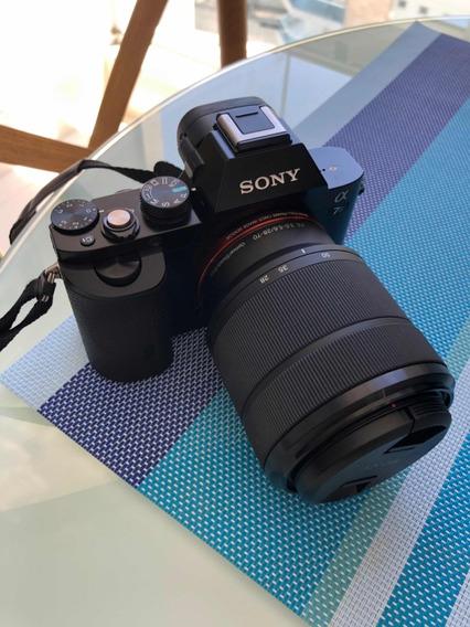 Câmera Sony Alpha A7s Mirrorless Digital + Lente + Bolsa Pro