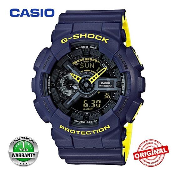 Relógio Casio G-shock Ga-110 Masculino Analógico Digital Esp