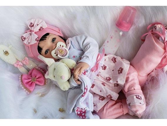 Bebê Reborn Promoção 53cm Princesa Boneca Bolsa Maternidade