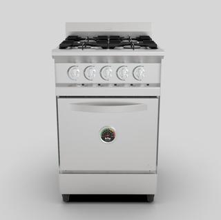 Cocina Industrial Fornax 55cm Versatil Eco Cv55ea Fundicion