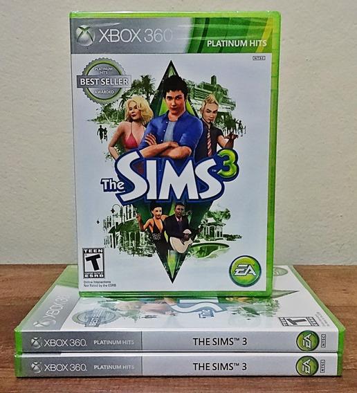 The Sims 3 Xbox 360 Novo Mídia Física Cd