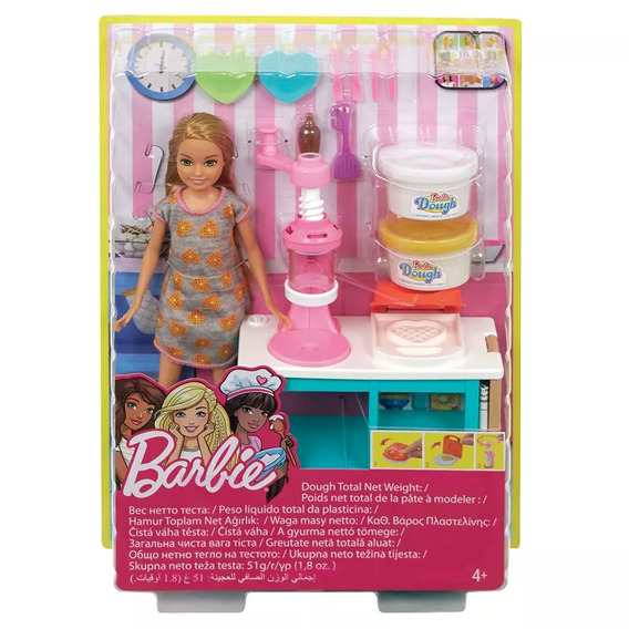 Barbie Stacie Estação De Doces Frh74 - Mattel