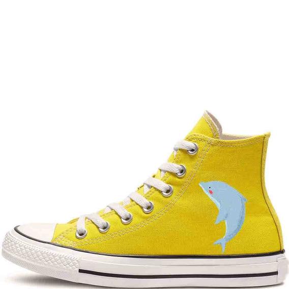 Zapatos Personalizados Delfin Hermosos Envio Gratis 003