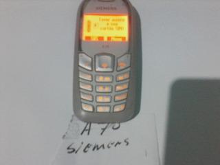 Celular Siemens A70 Original Conservado Leia O Anuncio