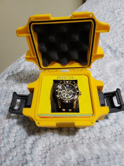 Relógio Invicta 23702 Masculino Banhado Ouro 18k. Original!