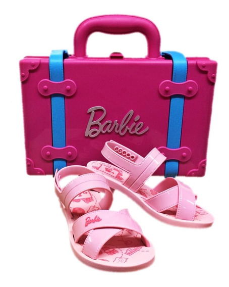 Sandália Barbie Volta Ao Mundo