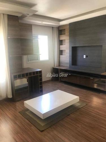 Apartamento Maravilhoso, Mobiliado, Ensolarado, Excelente Localidade, Venda - Spazio Club Barueri - Barueri/sp - Ap1576