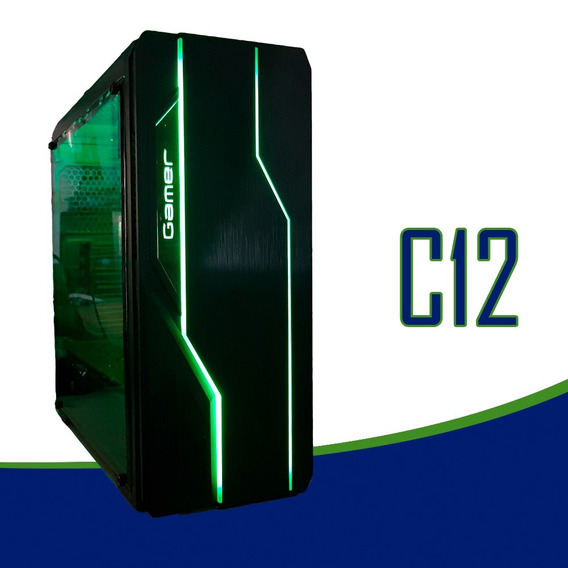 Cpu Gamer /core I5/ 16gb/ 1tb/ Gtx1650 4gb / Wifi/ Led Gab.