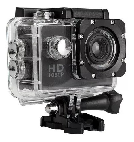 Câmera Filmadora Ação Capacete Esporte Mergulho