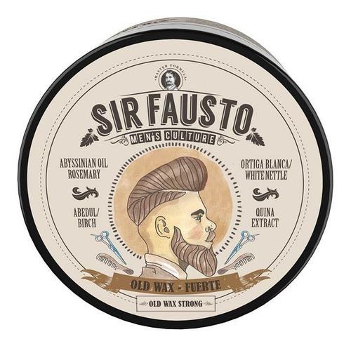 Sir Fausto Pomada Old Wax Fuerte Cabello 100gr