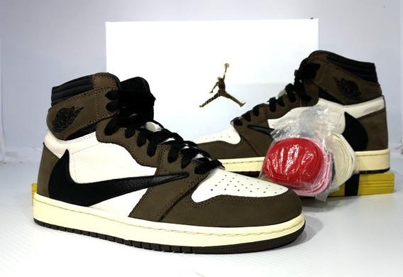 Tenis Jordan Nike Retro 1 Travis Scott