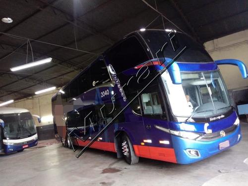 Imagem 1 de 10 de Paradiso Dd 1800 G7 Volvo B12r 420cv Ano 2011 60 Lug Ref 769