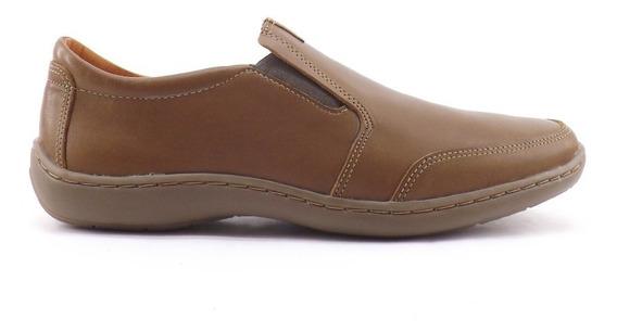 Zapatos Nautico Hombre Darmaz 100% Cuero Cosido Mocasín