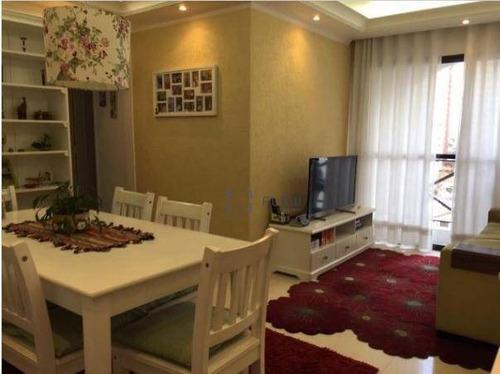 Apartamento 60m², 2 Dormitorios,  1 Vagas - Vila Gumercindo - Ap8259